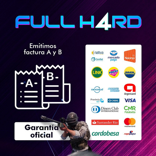 teclado gamer hyperx alloy fps rgb mecanico fullh4rd m/cent
