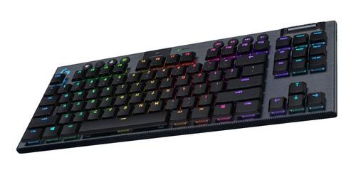 teclado gamer inalámbrico logitech g g915 tkl