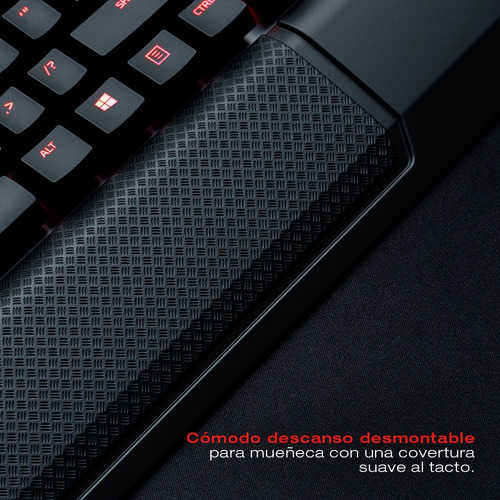 teclado gamer kingston hyperx alloy elite mecanico cherry mx