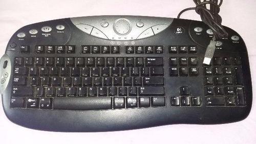 teclado gamer logitech elite keybooard usb