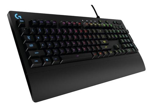 teclado gamer logitech g213 prodigy rgb usb 920-008084