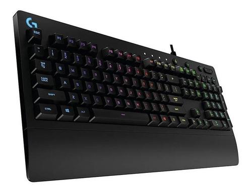 teclado gamer logitech serie g prodigy g213 rgb español