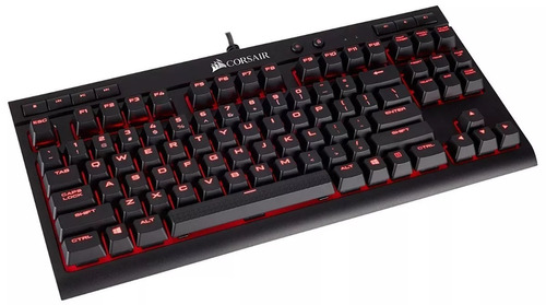 teclado gamer mecanico corsair k63 red mx red retroiluminado