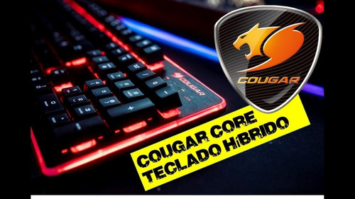 teclado gamer mecanico cougar core sp  diginet