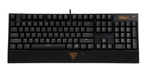 teclado gamer mecanico gamdias hermes lite combo, remate