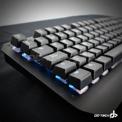 teclado gamer mecanico game factor kbg601 optico rgb