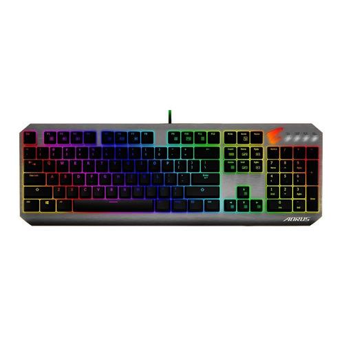 teclado gamer mecánico gigabyte aorus k7 rgb fusion usb htg2