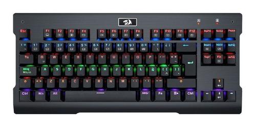 teclado gamer mecanico redragon visnu k561 / lhua store