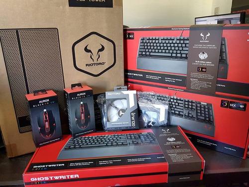 teclado gamer mecánico riotoro ghostwriter rgb