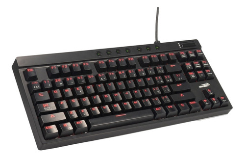 teclado gamer mecanico sentey gs-590 led rgb outemu red htg