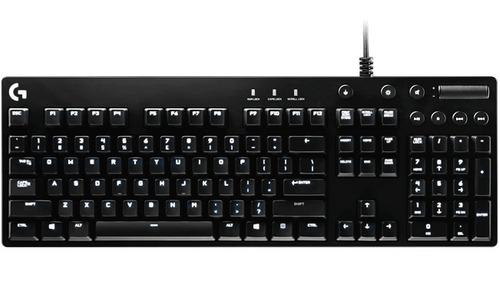 teclado gamer mecânico logitech g610 orion brown switch