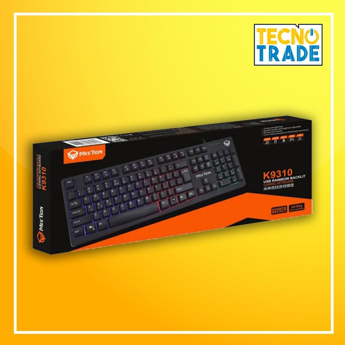6bbbb7d7a0a teclado gamer meetion k9300 gamer backlit retroiluminado. Cargando zoom.