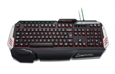teclado gamer metal war tc189 multilaser