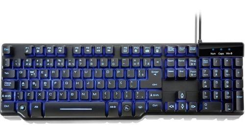 teclado gamer multilaser warrior semi mecânico tc196
