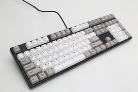 Teclado Gamer One 2 Cinza Cherry Red - Ducky Channel