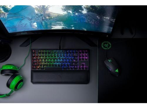 teclado gamer razer blackwidow tournament chroma v2 pce