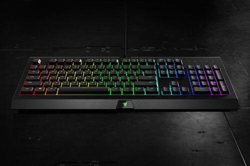 teclado gamer razer cynosa chroma rgb usb español ñ htg