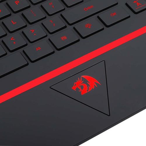 teclado gamer redragon karura k502 led 7 colores español
