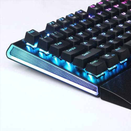 teclado gamer redragon mecanico k569 aryaman rgb high speed