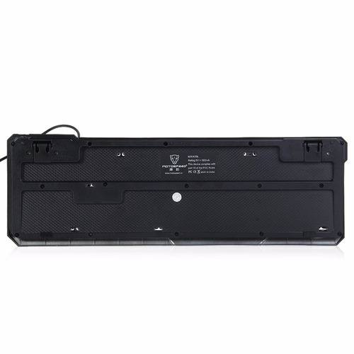 teclado gamer retroiluminado motospeed k70l usb impermeable