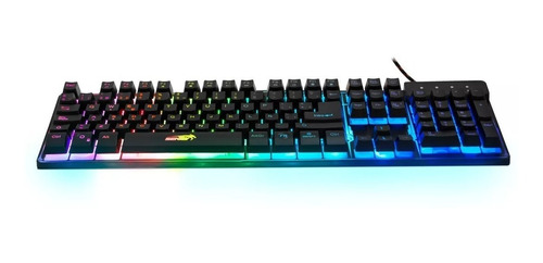 teclado gamer sentey technus gs-5750 rgb led español usb