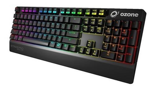 teclado gamer strike pro spectra mx red - ozone