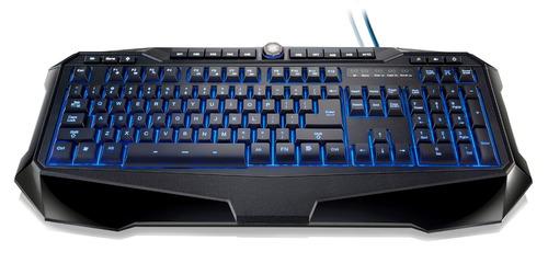 teclado gamer warrior - iluminado / macro / anti-ghosting