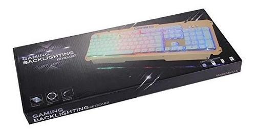 teclado gaming backlighting m500-s / estructura de aluminio