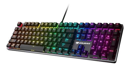 teclado gaming cougar vantar mx rgb