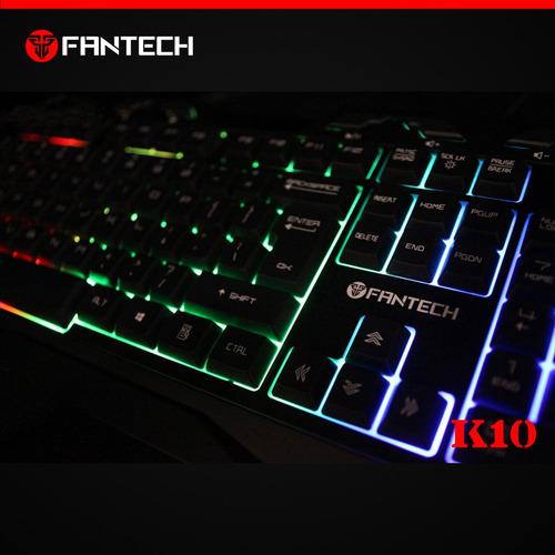 teclado gaming fantech modelo k10 hunter
