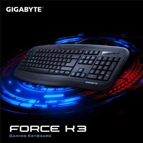 teclado gaming gigabyte gk-force k3 original oferta