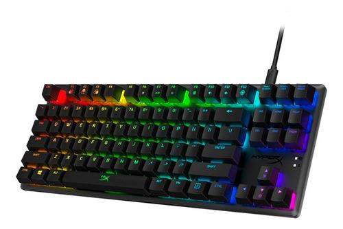 teclado gaming hyperx alloy origins core -  composystem
