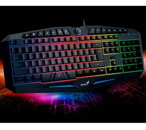 teclado genius inteligente scorpion k9 gamer