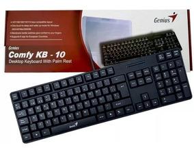 Teclado Genius Kb 10 Cable Usb Gamer Laptop Pc