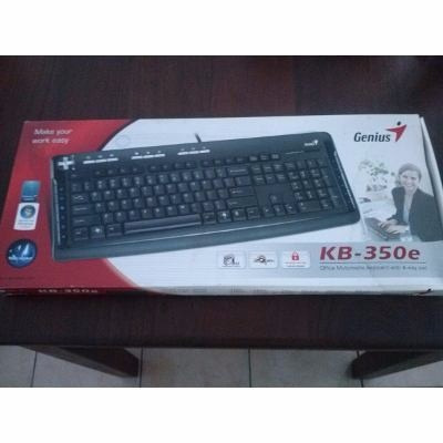 teclado genius kb-350 usb multimedia