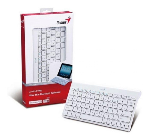 teclado genius luxepad 9000 white