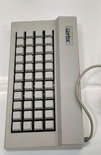 teclado gertec tec44 3c  ps2 *ler descrição*