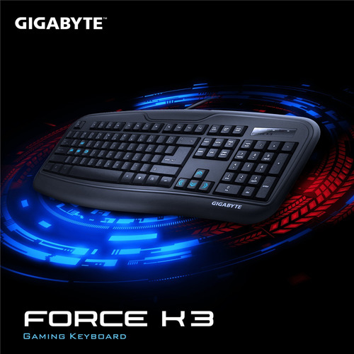 teclado gigabyte force k3