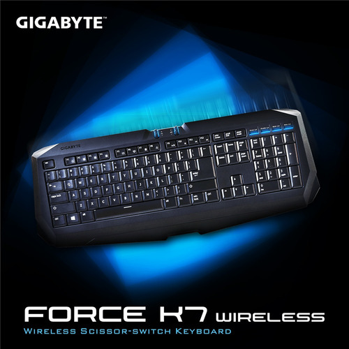 teclado gigabyte force k7 wireless