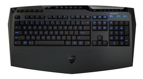 teclado gigabyte k8100 azul