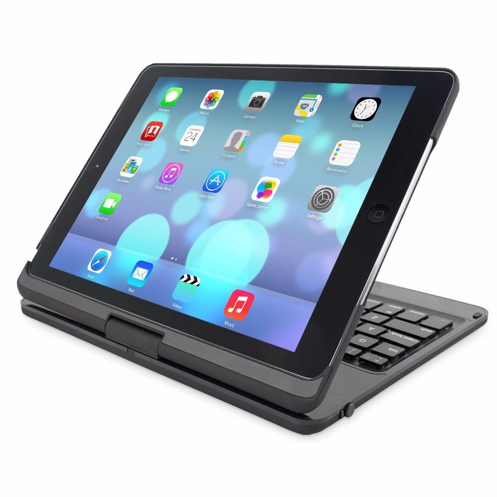 Teclado Giratorio Para Ipad Air 2 Y Pro Bluetooth Blackweb ...