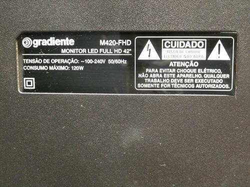 teclado gradiente m420-fhd