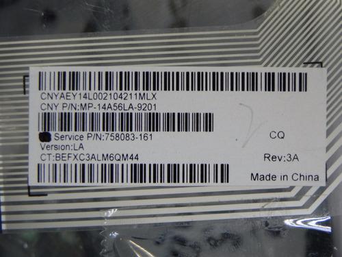 teclado hp 15-p negro en español