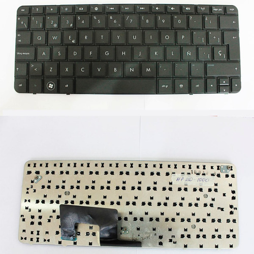 teclado  hp 210-3000 black