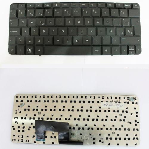 teclado  hp 210-4000 cto black