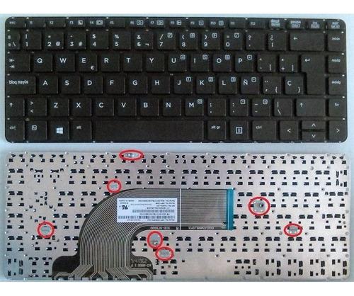 teclado hp 430 g2 440 g0 440 g1 445 g1 445 g2 640 g1 645 g1