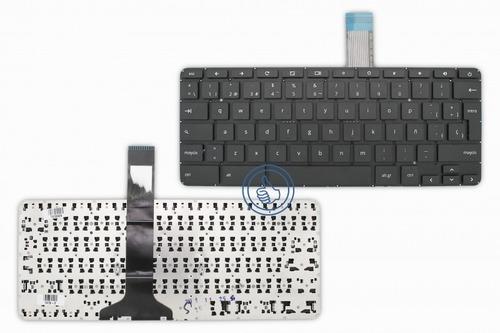 teclado hp chromebook 11 g3 negro español