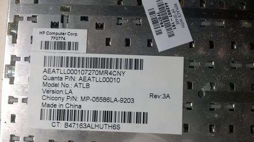 teclado  hp compaq 442887-161 español, f500, f700 y otros