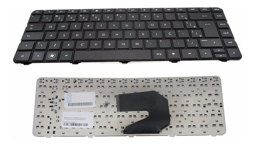 teclado hp compaq cq43-112br cq43-215br cq43-111br br com ç
