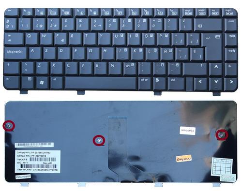 teclado hp compaq dv4-1204tx dv4-1205tu dv4-1205tx
